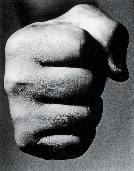 Ричард Аведон / Richard Avedon, США, 1923-2004 «Джо Луис, боксер-победитель», Нью-Йорк, 1963