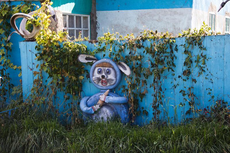 устрашающий Заяц в Тургусуне