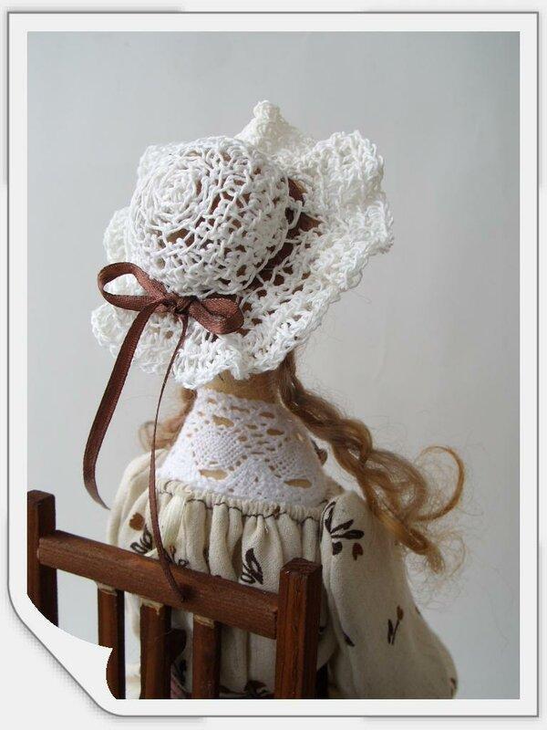 шляпка куклы