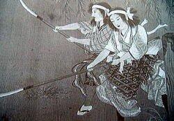 Женский отряд Накано Такэко.