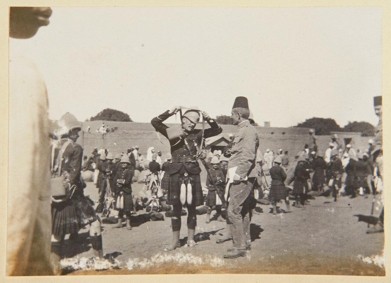 26 февраля 1898. Собственный королевский Камерон-хайлендерский полк, покидает Дармали