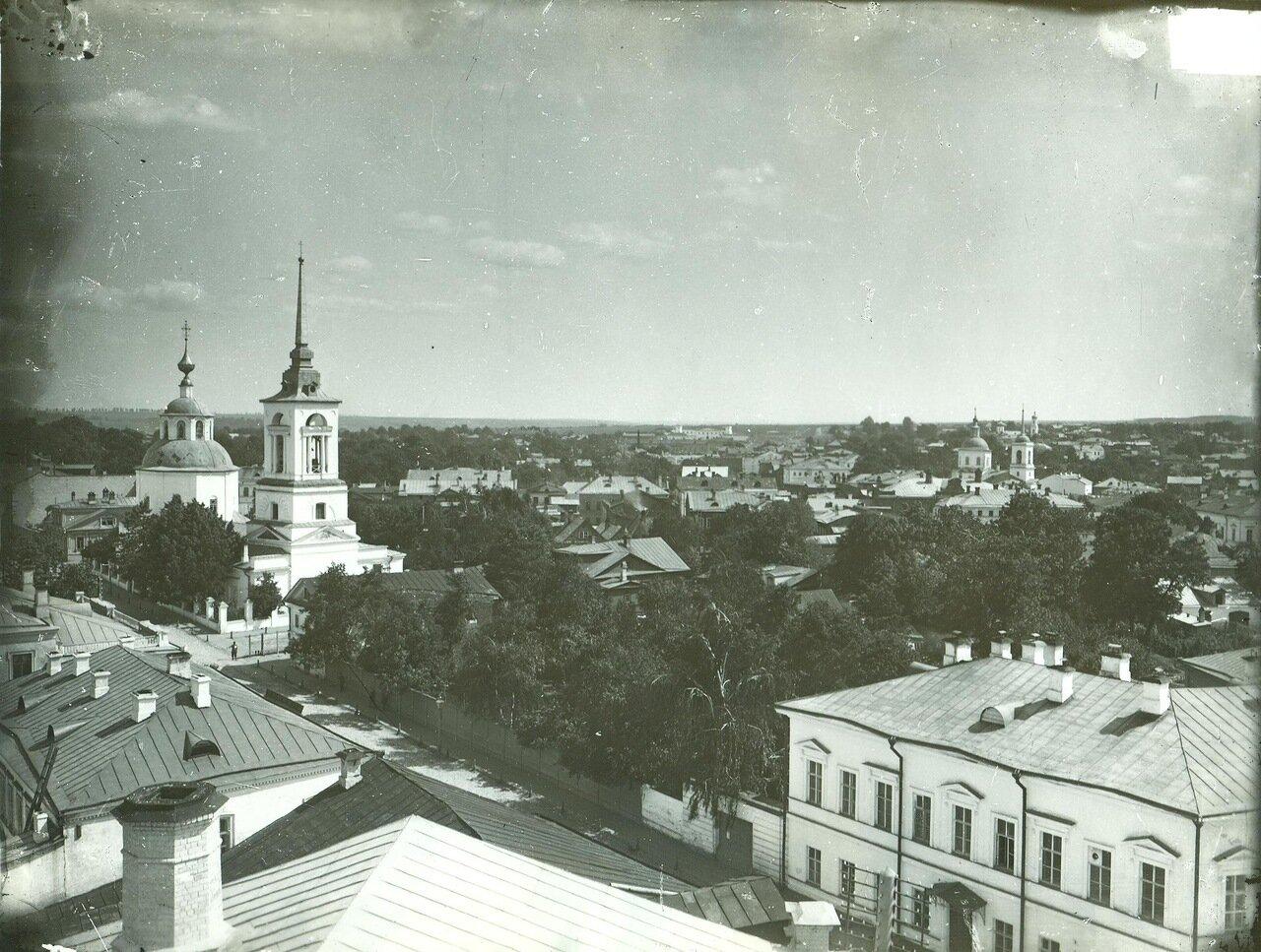 Тихоновская улица и Тихоновская церковь