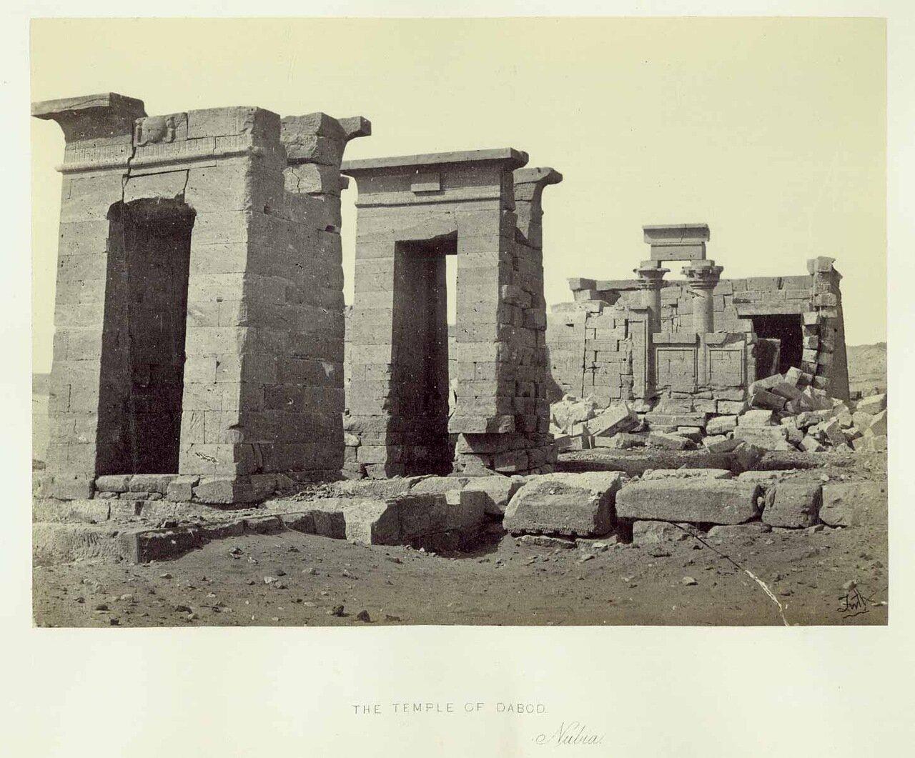 Храм Дебод. 1862