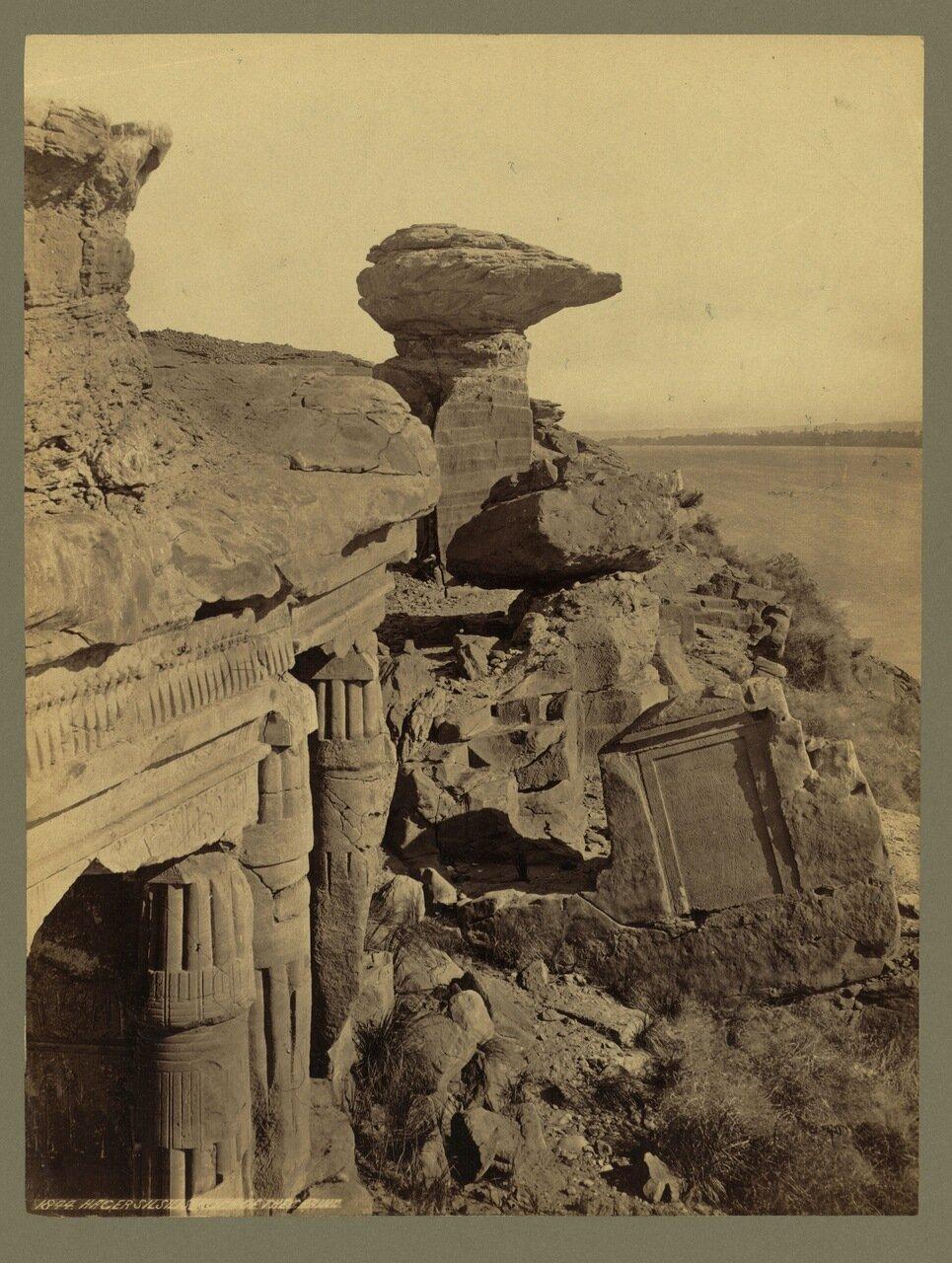 Та-сети на Ниле.Скальные святилища в местечке Гебель эль-Сильсила