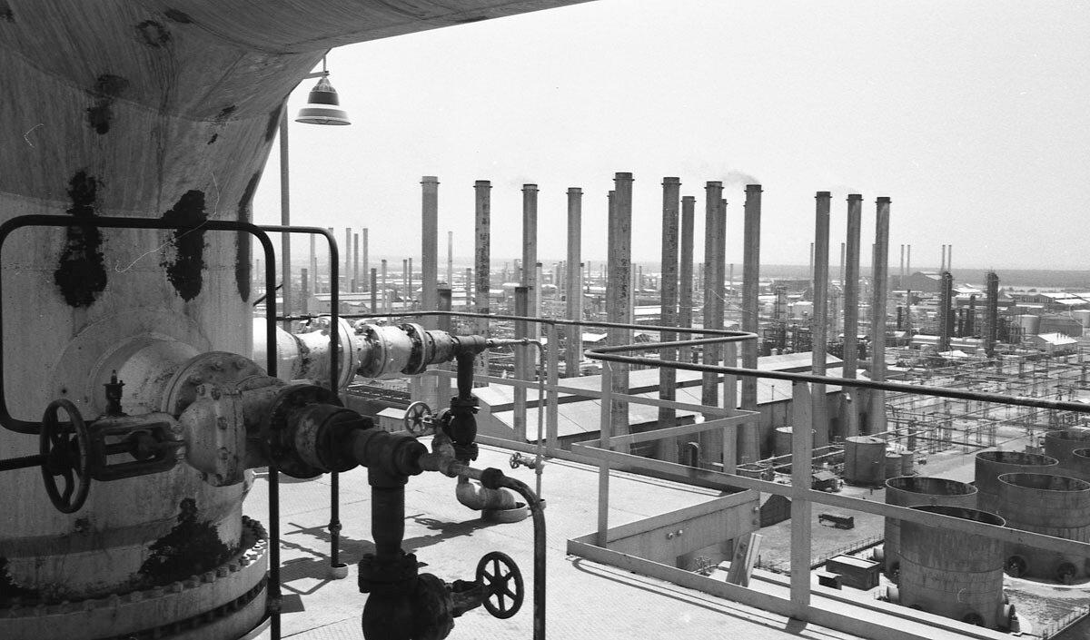 61. Нефтяная промышленность в Иране, 1958
