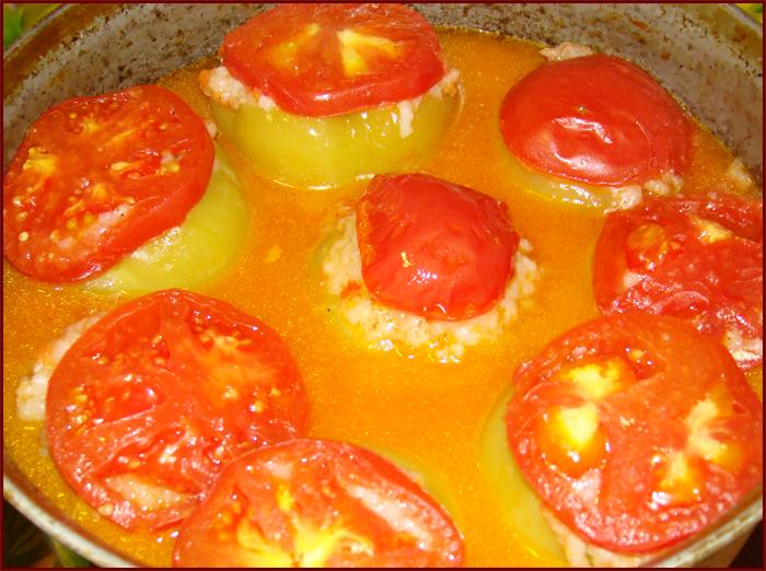 болгарский фаршированный перец