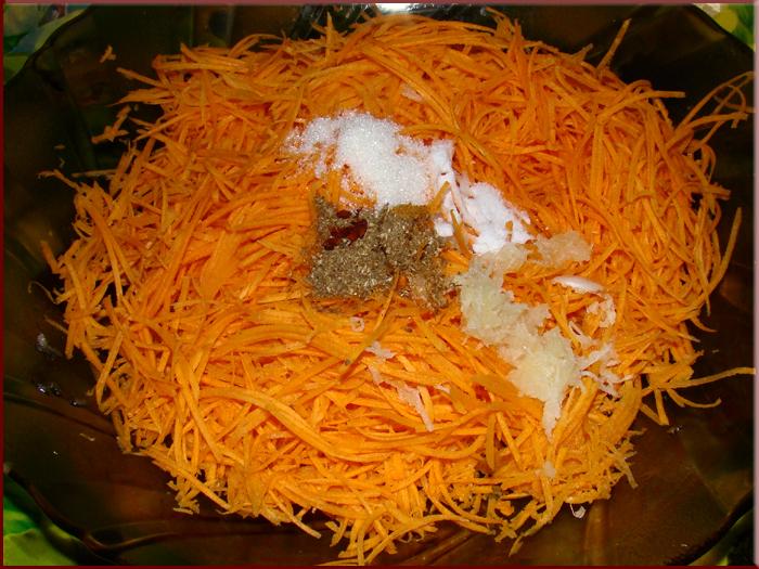 морковь по-корейски фото рецепт