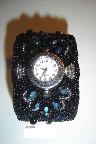 Часы из бисера своими руками