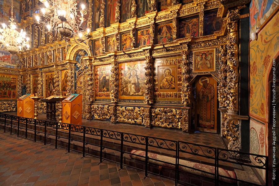 Ильинская церковь иконостас