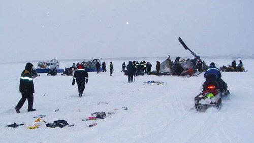 Потерпел крушение вертолёт Ми-8 в Красноярском крае
