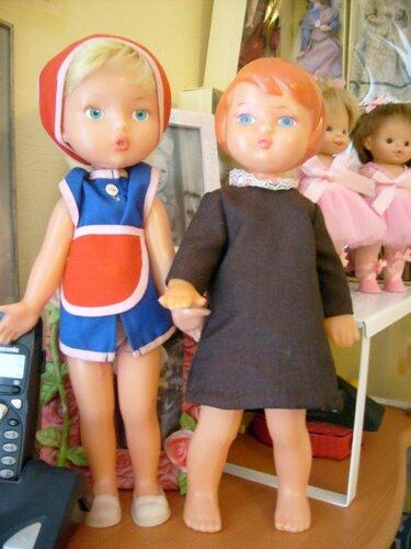 Любимые рельефные куклы (рельефочки) советского периода