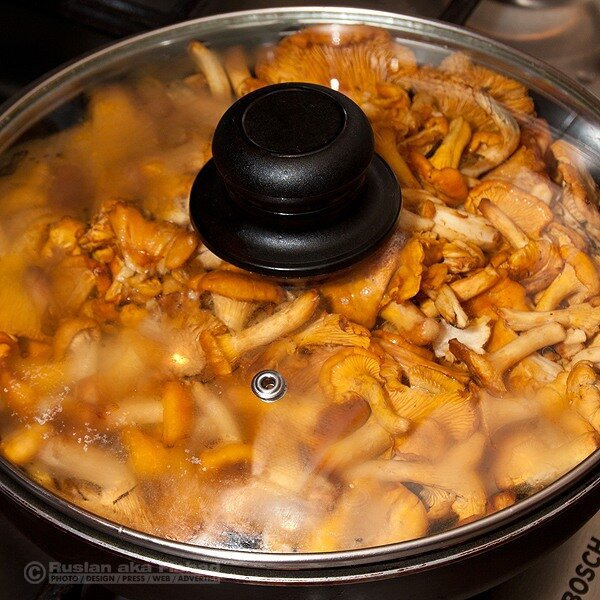 Рецепт как пожарить грибы