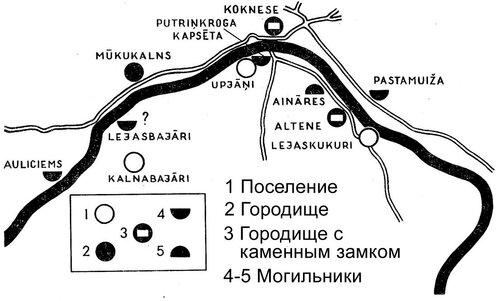 Карта поселений