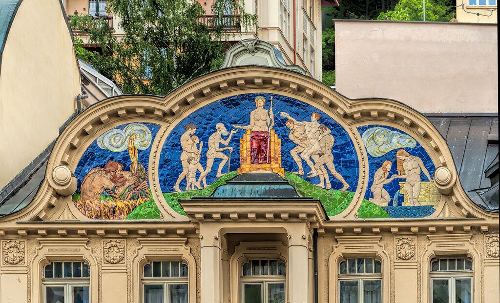 Карловы Вары. Архитектурные фрагменты