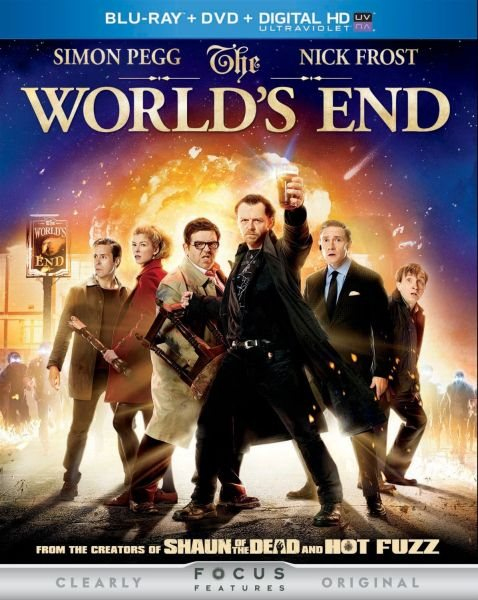 Армагеддец / The World's End (2013) BD-Remux + BDRip 1080p/720p + HDRip