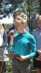 Открытие мемориального памятника семьи Печуровых
