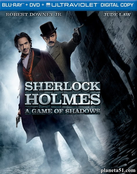 Шерлок Холмс: Игра теней / Sherlock Holmes: A Game of Shadows (2011/BDRip/HDRip)