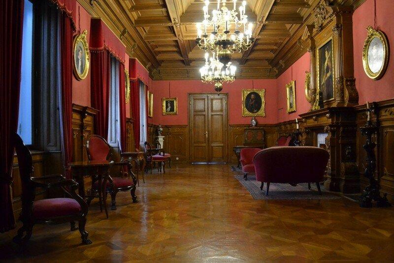 Интерьер дворца Фештетичей