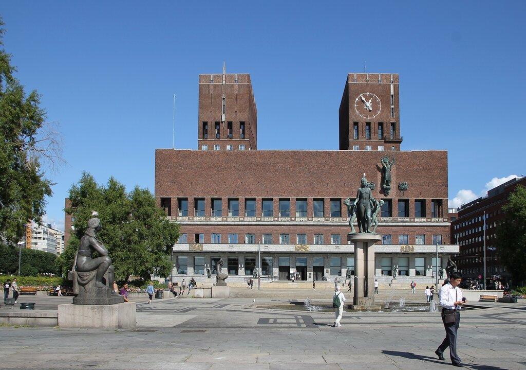 Осло, Ратушная площадь, Ратуша