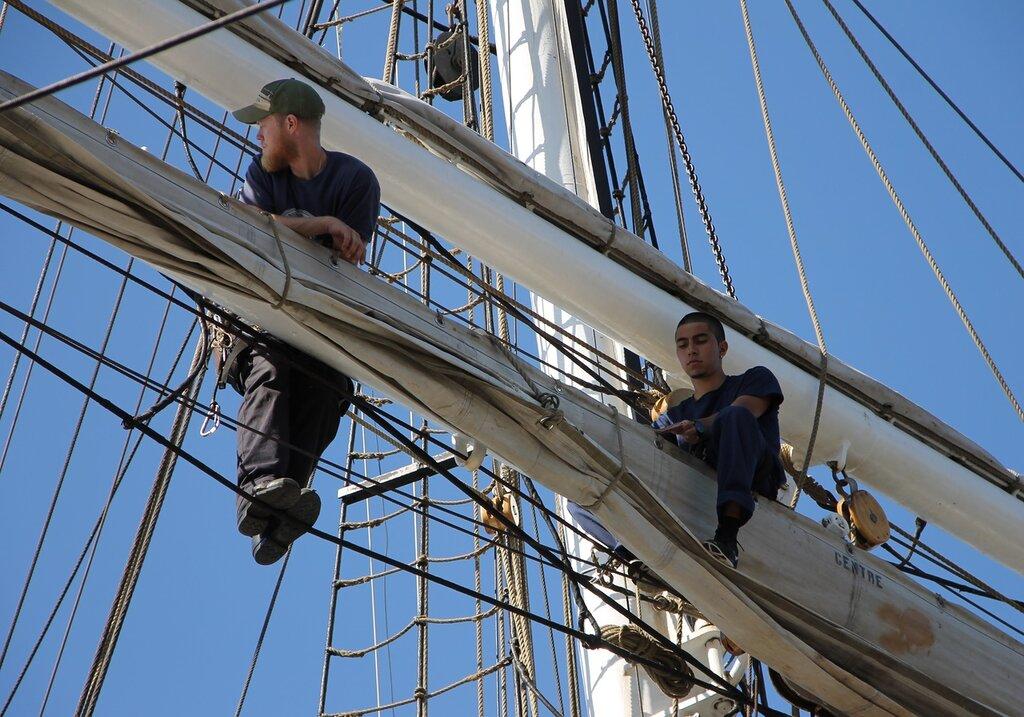 Christian Radich, training sailing ship