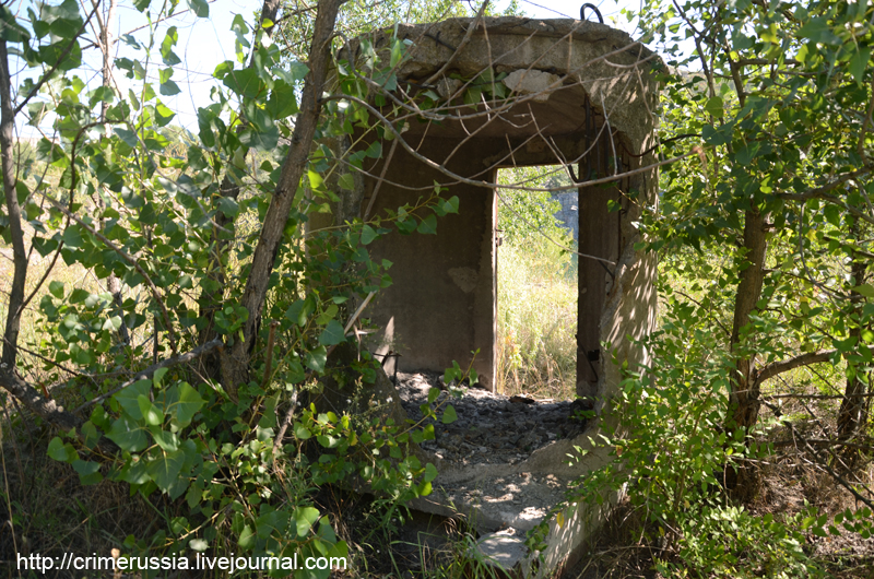 кабинка убежище во время взрывных работ