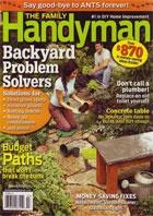 Книга Family Handyman №496 (March),  2009