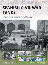 Книга Spanish Civil War Tanks.