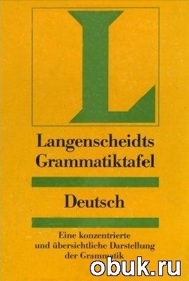 Книга Langenscheidts Grammatiktafel Deutsch