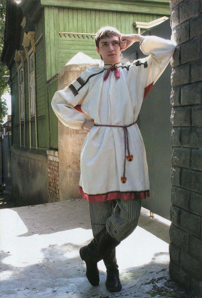 Мужская народная одежда Воронежской губернии