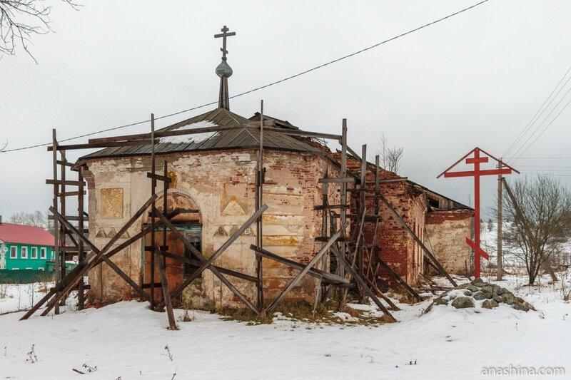 Троицкая церковь, Андомский погост, Вологодская область
