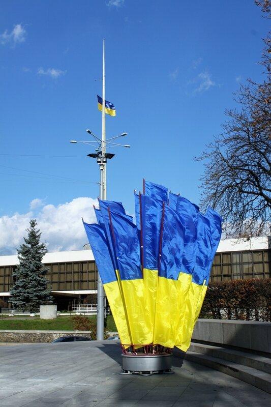 Праздничное убранство Киева