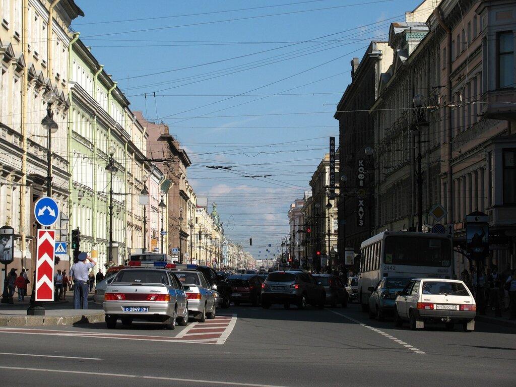 Начало Невского
