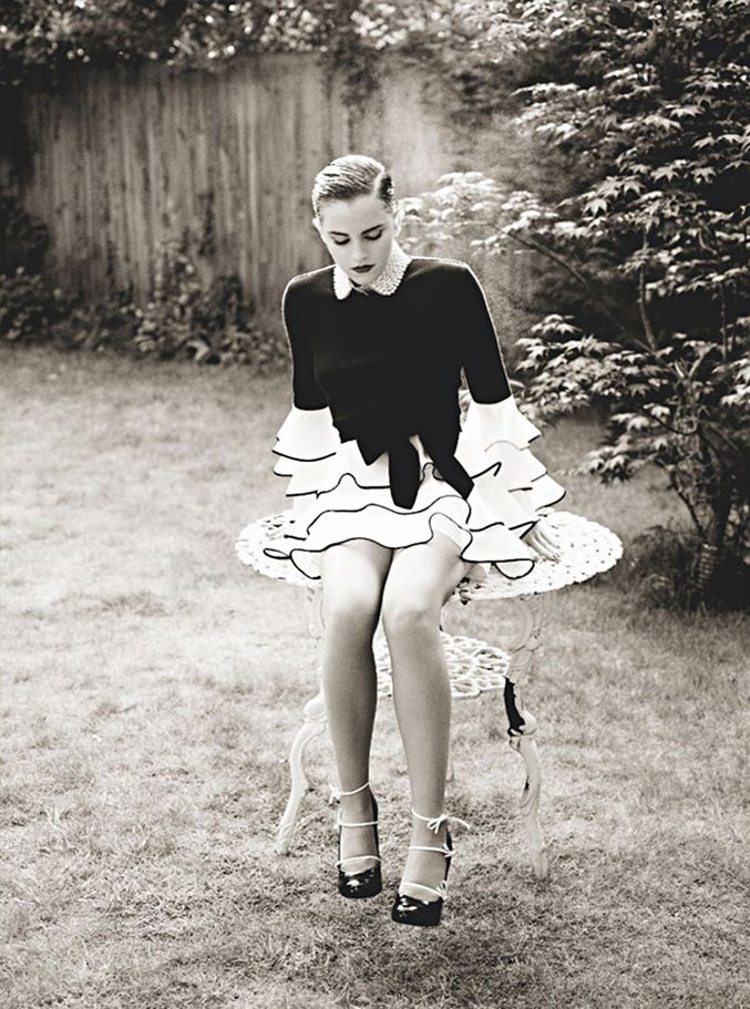 модель Эмма Уотсон / Emma Watson, фотограф Mariano Vivanco