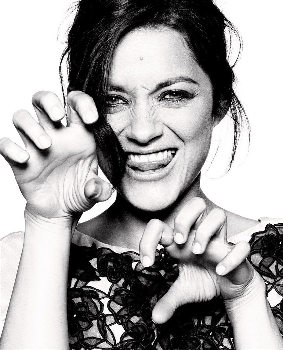 Марион Котийяр / Marion Cotillard by Alexei Hay in Elle France may 2012