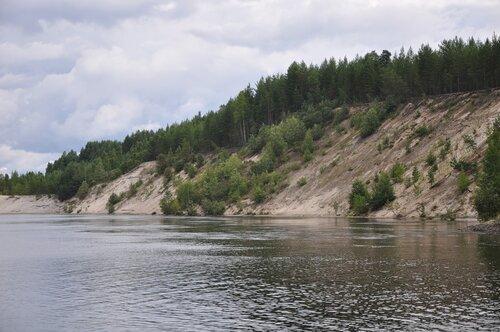 Правый берег реки Суна