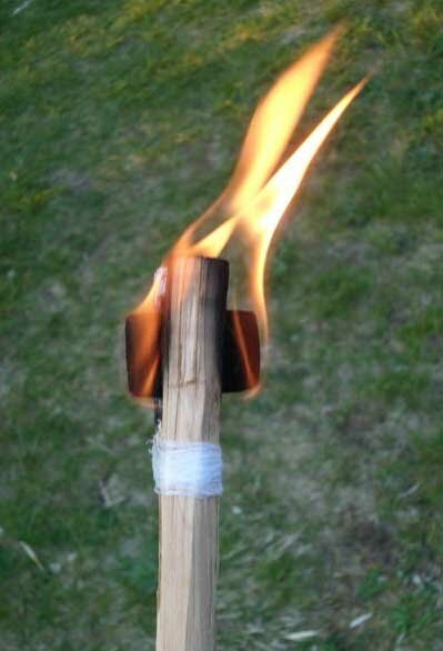 Как сделать хороший факел?