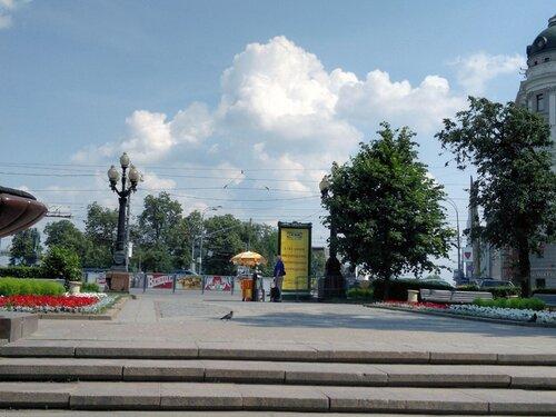 Нужная точка съемки памятника Пушкину
