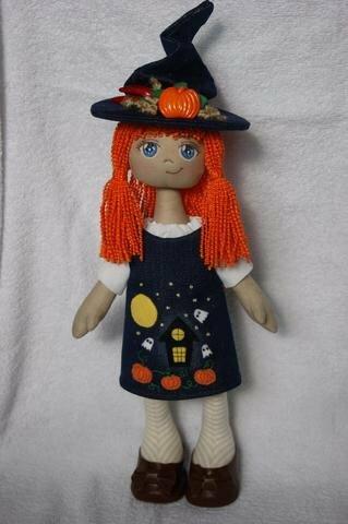 кукла хеллуин