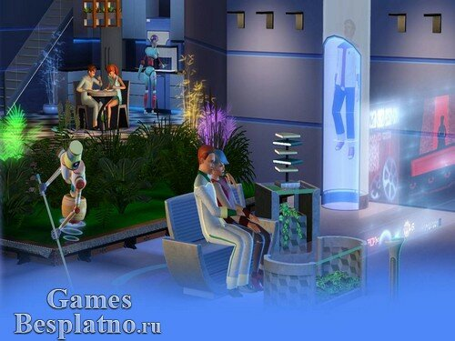 The Sims 3: Вперед в будущее / The Sims 3: Into the Future