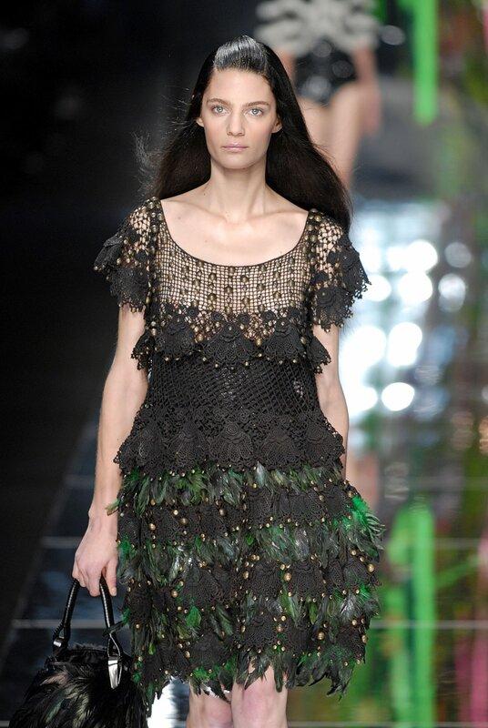 精美的爱尔兰花衣裙(12) - 柳芯飘雪 - 柳芯飘雪的博客