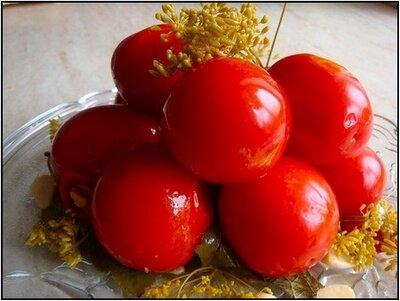 Засолка помидор в банках