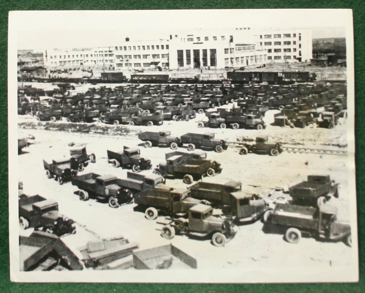 1932. Завод имени Молотова в Нижнем Новгороде