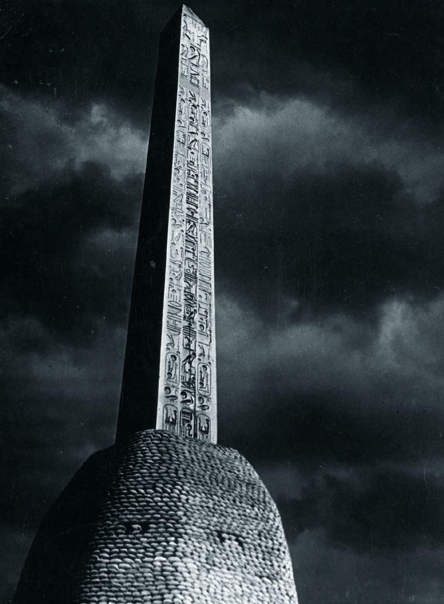 1930-е. Обелиск в лунном свете