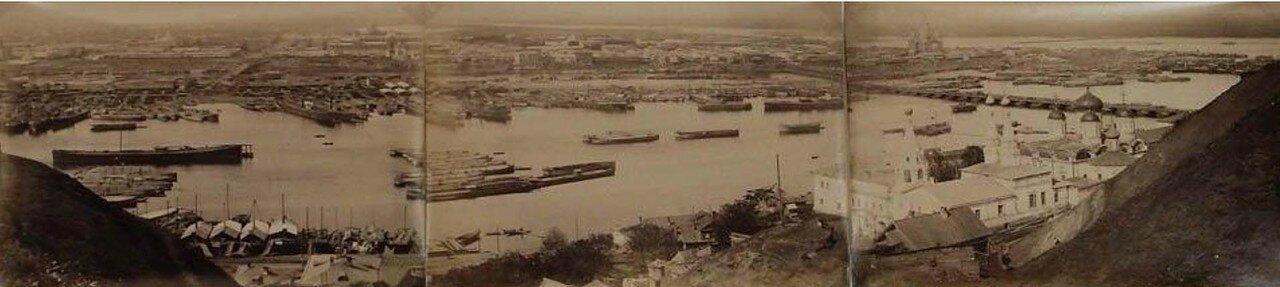 1880. Общий вид порта