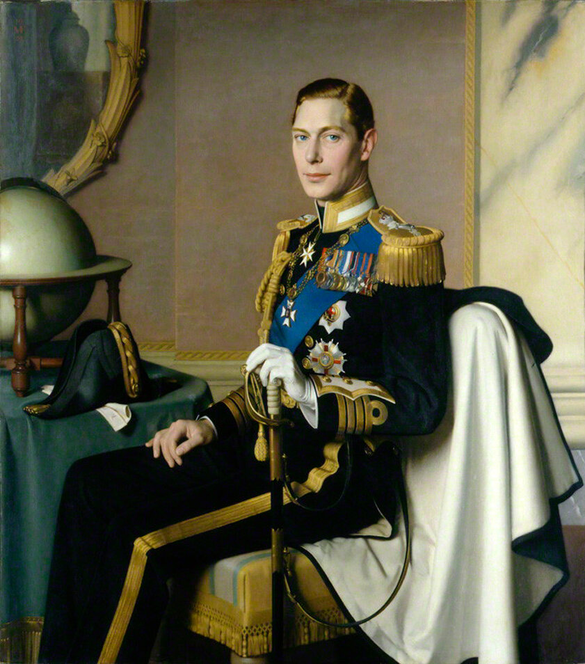 NPG L214; King George VI
