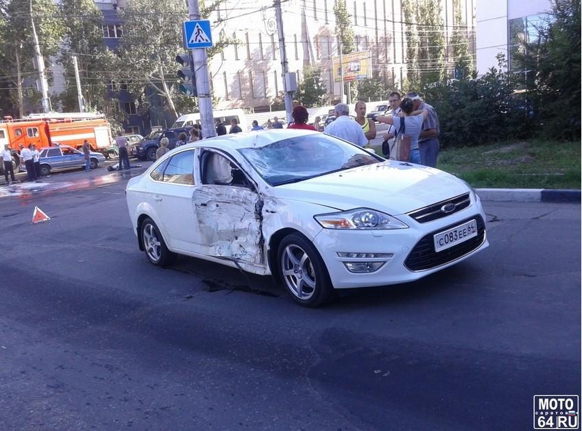 НаЧернышевского умер мотоциклист