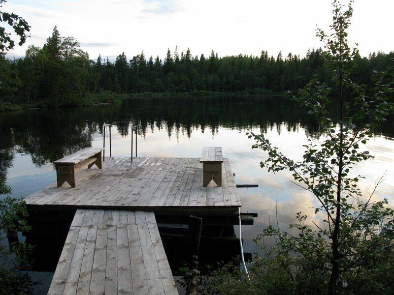 Место для купания после бани