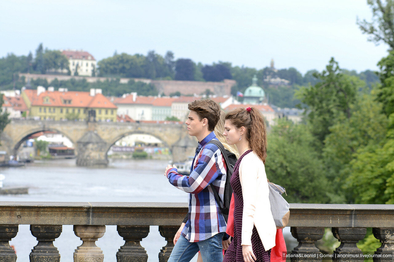Импортные люди. Прага