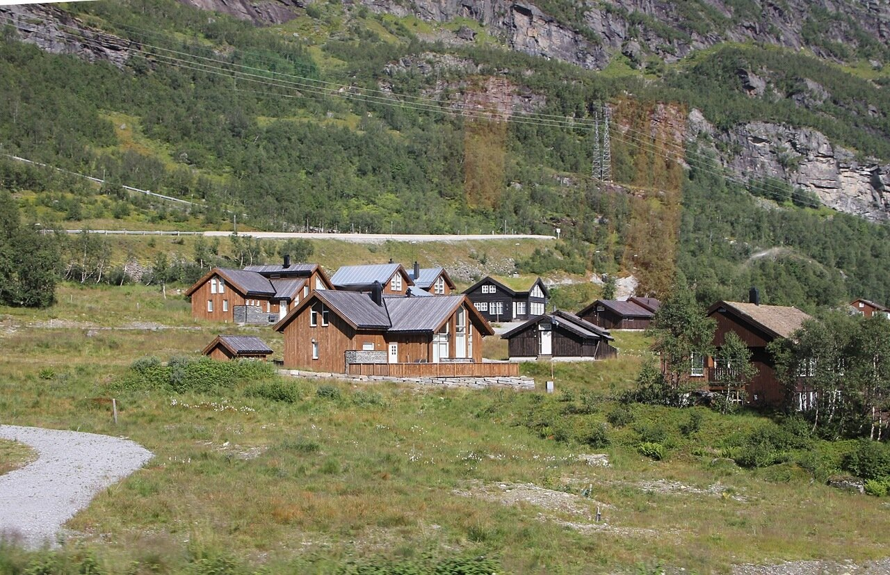 West Norway mountain.  Горы Западной Норвегии.