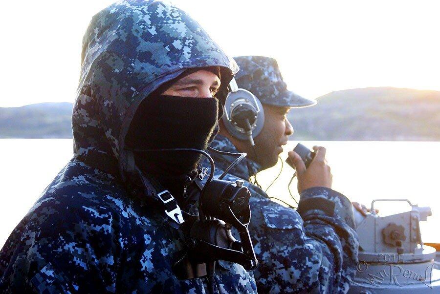 Визит FFG-52 Carr в Мурманск. 2 сентября 2011 года